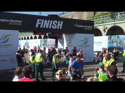 Brighton Marathon 2017 BBC Radio Sussex 'celebrity' Interview Demelza Teenage Cancer Trust