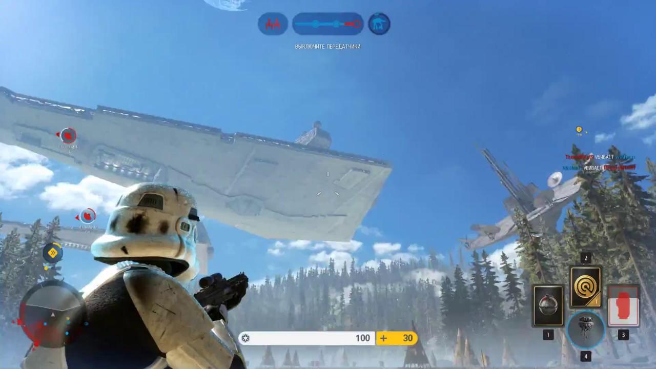 STAR WARS Battlefront 2 08 2017 Gameplay Rus