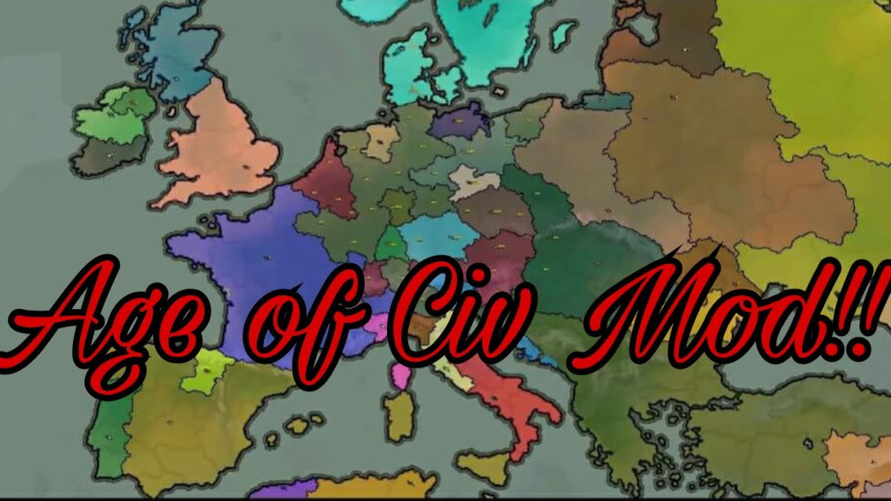 Mod Review Age of Civilization: Rise of Civilization by Comrade Kelly