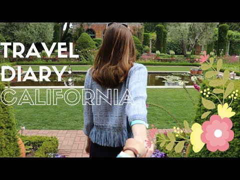 California Travel Diary
