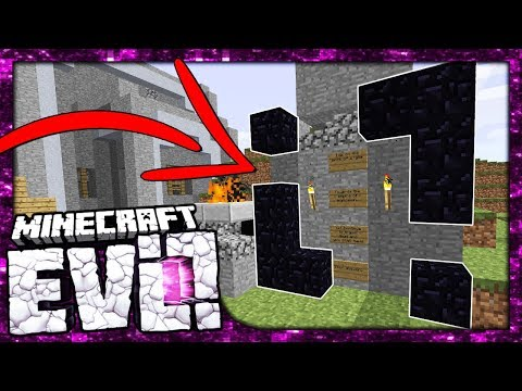 WHAT IS THIS MYSTERIOUS PORTAL!?   Minecraft Evolution SMP   #22