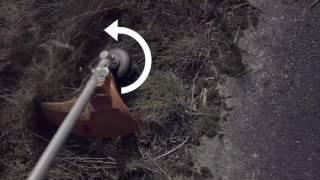 Выбор направения вращения триммерной головки бензокосы триммера Husqvarna(, 2016-06-01T07:08:32.000Z)