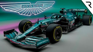 How Aston Martin has taken its 'Green Mercedes' to the next level for F1 2021