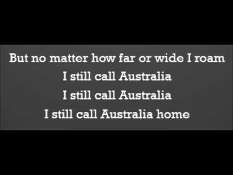 Peter Allen - I Still Call Australia Home (Lyrics)