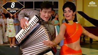 Aaj Kal Tere Mere Pyar Ke Charche | Brahmachari (1968) | Shammi Kapoor | Mumtaz | Pran | Hindi Song