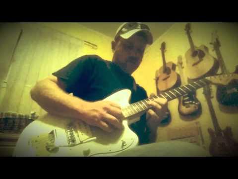 Jazzmaster Overdriven Delayed Blues Ken Rose Picasso Humbucker