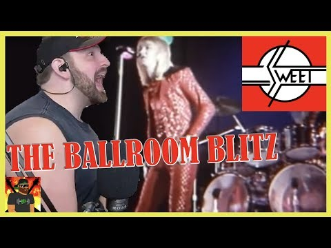 Almost 50 Years Later!! | Sweet - The Ballroom Blitz (Official Video) | REACTION