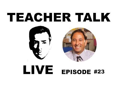 Teacher Talk Live | Ep 23 w/ Alex Kajitani