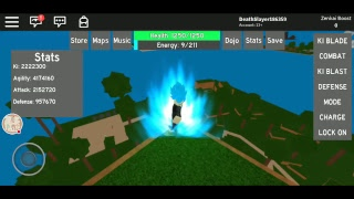 ATTEMTING TO REACH MODE MUI ON DRAGON BALL RAGE/ROBLOX