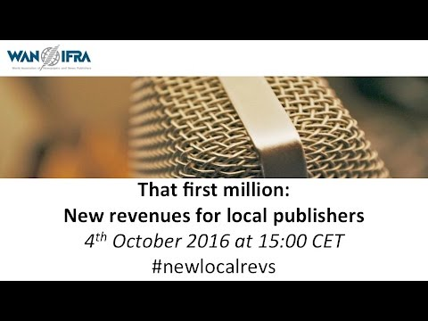 That first million: new revenues for local publishers
