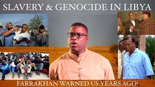 Black Libyan Genocide & Slavery Caused By White Powers