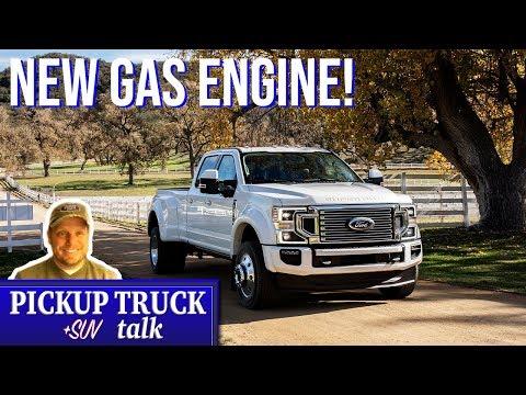 2020 Ford F250, F350 Super Duty Revealed - New Gas Engine!