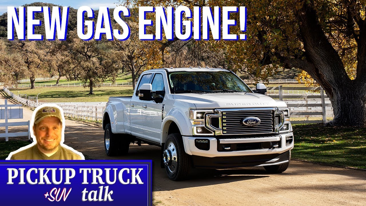 ford   super duty revealed  gas engine youtube