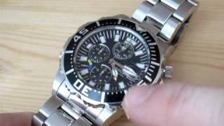 Invicta Watch - Japanese Quartz Chronograph Movement