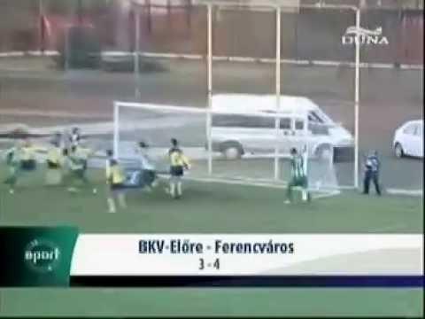 BKV Előre 3-4 Ferencváros
