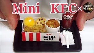 Making Mini Kentucky Fried Chicken