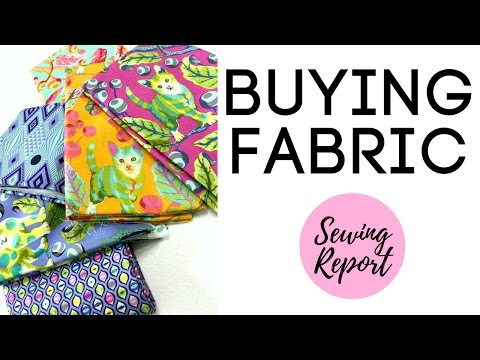 Buying Fabric | Online vs. Stores | How to Choose & Select F