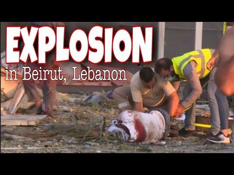 Download Beirut, Lebanon Explosion| actual videos