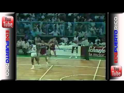 1987 - PR vs Panama (Centro Basket)