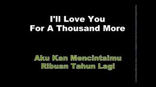 A Thousand Years - Christina Perri Lyrics | Terjemah - Populer YouTube
