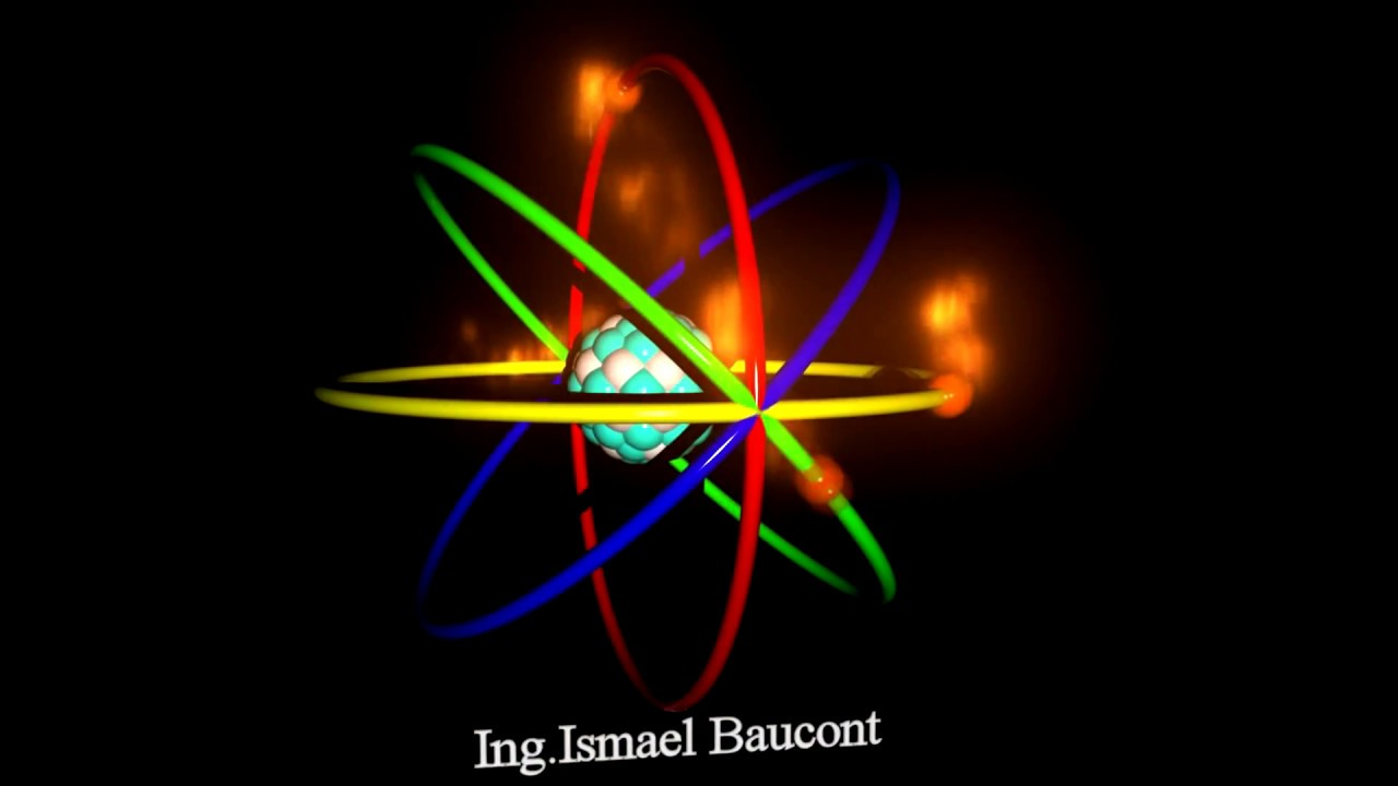 Modelo Atómico De Bohr Animación Tridimensional