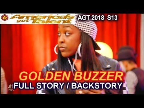 Flau'jae WINNER GOLDEN BUZZER FULL STORY OR BACKSTORY America's Got Talent 2018 Judge Cuts 4 AGT