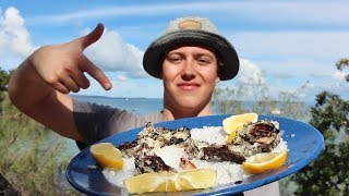 EP 10 - RAW vs GOURMET - How to make OYSTERS taste good! | Catch n Fry