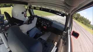 Rabbit GTI Cup In Car at VIR
