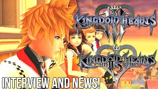 Kingdom Hearts 3 + 2.5 Interview and Information