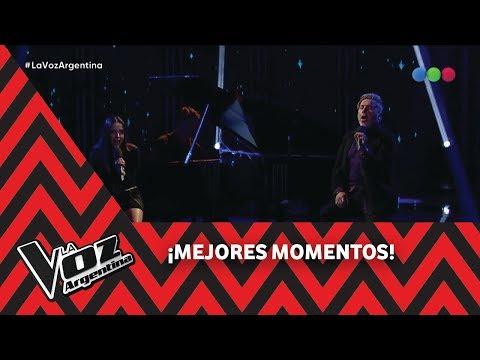 Ricardo y Evaluna Montaner cantan 'Me va a extrañar' - La Voz Argentina 2018
