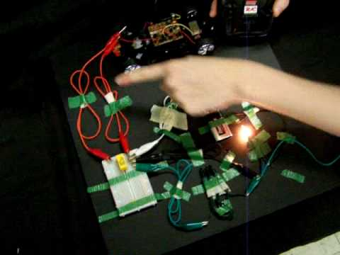Using A RC Car And Relay To Control Lights YouTube - Rc car relay switch