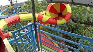 Giant Cone Water Slide at Transera Waterpark