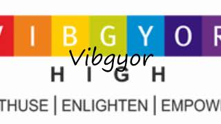 How to Pronounce Vibgyor