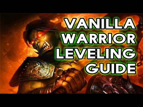 Fast Vanilla Leveling Guide For Warrior (Classic World of Warcraft)