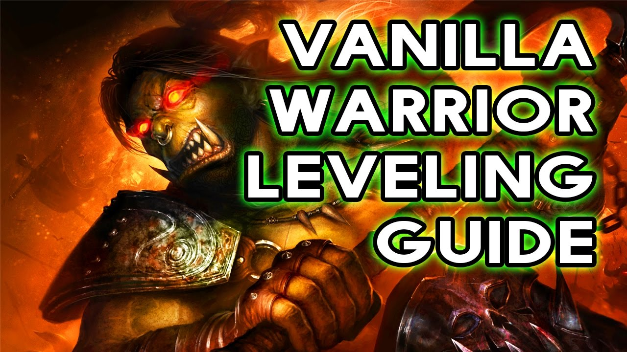Classic WoW: Fast Warrior Leveling Guide - Talents, Addons & Gear