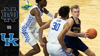 Notre dame vs. kentucky: in a game full of runs, the fighting irish outlasted kentucky wildcats for 64-63 win. started out on fire...