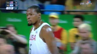 USA vs. Argentina Basketball Quarterfinals Recap - 2016 Rio Olympics - August 17, 2016
