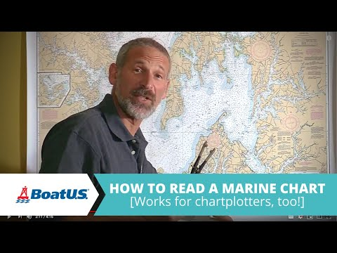 How to Read a Marine Chart [Works for Chartplotters, Too!] | BoatUS