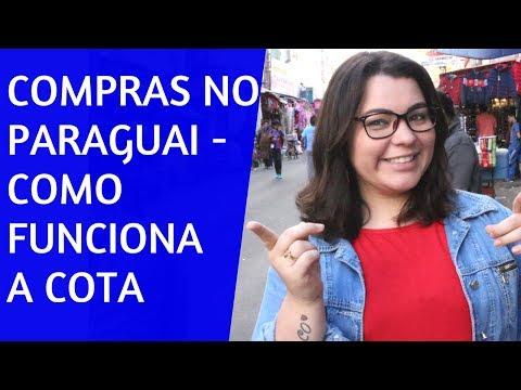 COMPRAS NO PARAGUAI - COMO FUNCIONA A COTA DE COMPRAS?