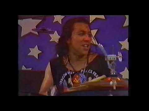 Ozzy Osbourne Tattooed Dancer Moscow Music Peace Festival 1989