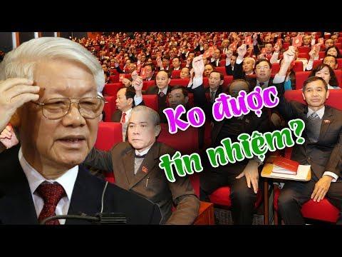 26/12- ngày thứ 2 hội nghị Tw9- Nguyễn Phú Trọng thộn mặt khi nhận số phiếu tín nhiệm thấp nhất