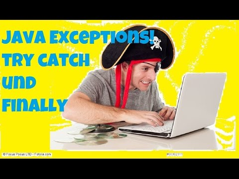Java Ausnahmebehandlung - Try Catch Und Finally