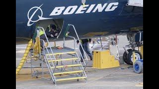 هبوط اضطراري لطائرة بوينغ 737