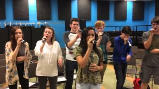 Forte rehearsing La La La