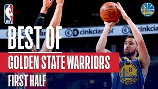 Warriors Score 92 Points In First Half! Highest Scoring Half in Warriors History   October 29, 2018