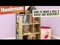 How To Build a Doll's House Book Shelf