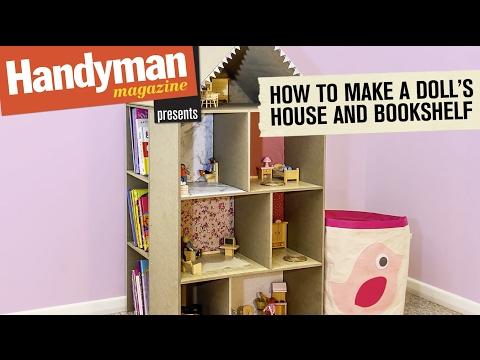 How To Build Dolls House Book Shelf
