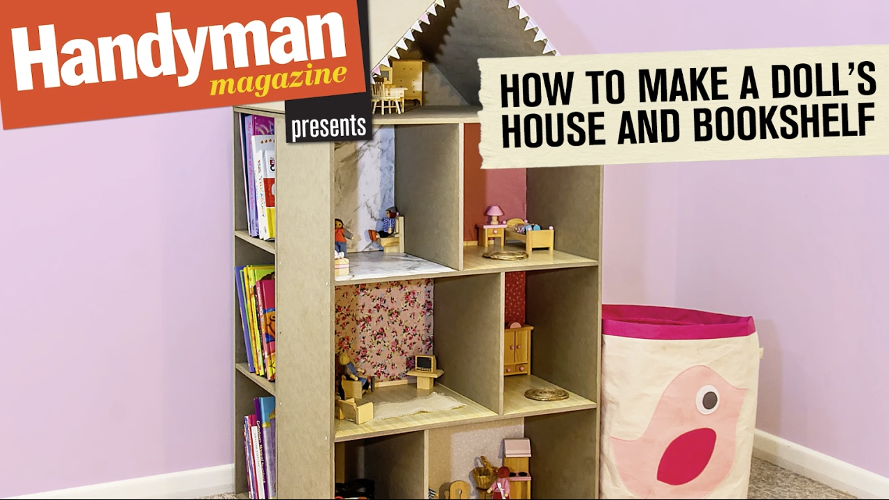 How To Build A Doll S House Book Shelf Youtube