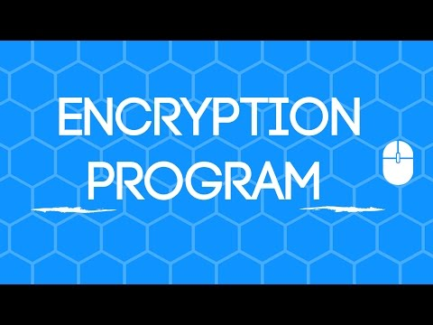 Encryption Program On Python!