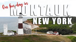 Montauk Long Island trip - sites and reviews 4K dji video
